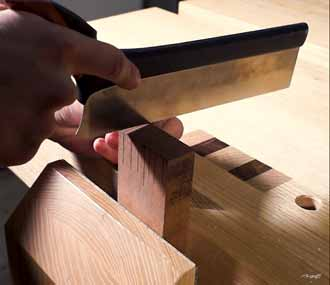 Tenon Saw Correctly Using
