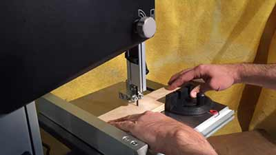 Woodworking with Bandsaw