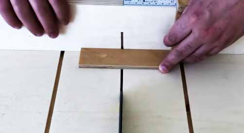 Cutting Test with Sled