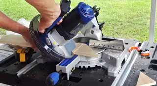Kobalt 7 14 Sliding Miter Saw